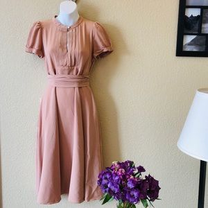 Blush Marc by Marc Jacobs Midi Dress Silk 8
